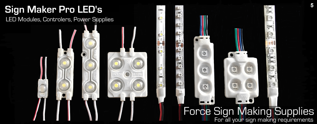 force sign making supplies